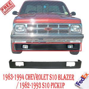 Front Lower Valance Primed For 1983 1994 Chevrolet S10 Blazer 82 93 S10 Pickup Ebay