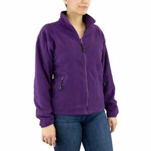 River-039-s-End-Microfleece-Jacket-Womens-Athletic-Jacket-Lightweight-Purple