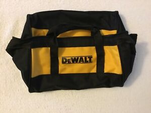 "New Dewalt 11"" Heavy Duty Ballistic Nylon Tool Bag 11"" x 9"" x 7"""