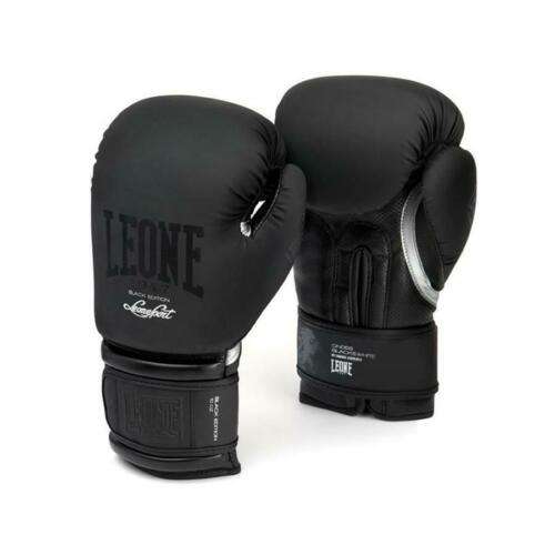Boxing Gloves Leone 1947 GN059 Black White Krav Maga Fit Martial Arts
