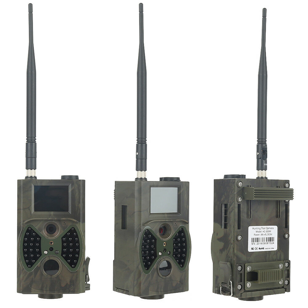 Wildkamera GPRS MMS SMS 12MP 940NM HC300M JagdKamera IR LED Jagd Wildcravater Kamera