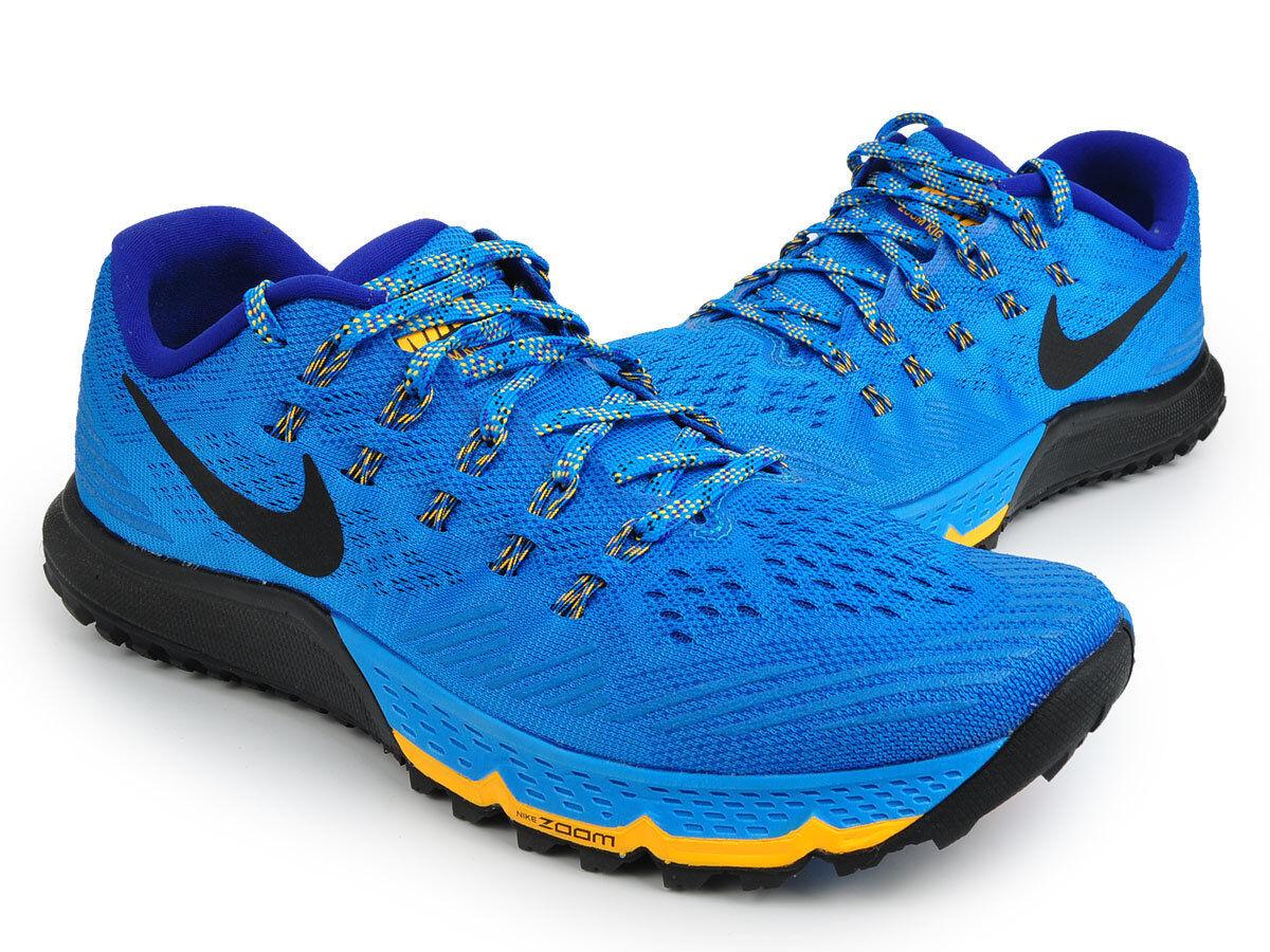 Nike 3 Air Zoom Terra Kiger 3 Nike azul negro gris zapatillas Hombre 749334 entrenamiento comodo y atractivo b2b734