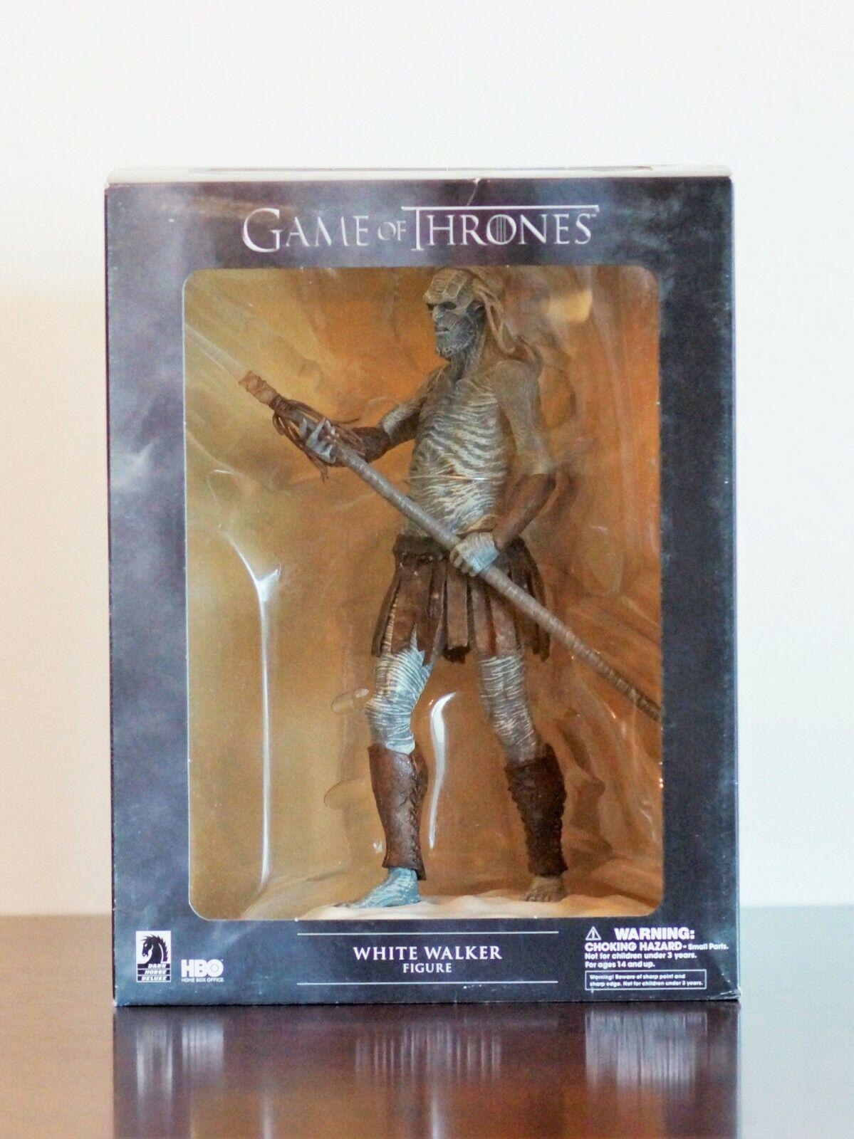 Juego de Tronos-blancoo Walker oscuro Horse figura