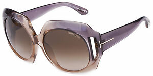 NEW-Authentic-TOM-FORD-Sunglasses-IVANA-Graduated-Violet-Gradient-FT0385-20B