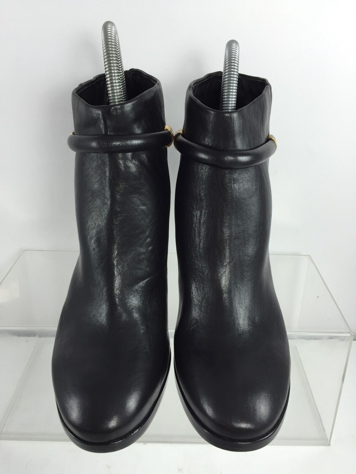 Aerin Womens Black Leather Ankle Boots Boots Boots 10 M f81bb2