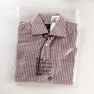 """100 T-Shirt Garment Clear Bags 12"""" x 16"""""""
