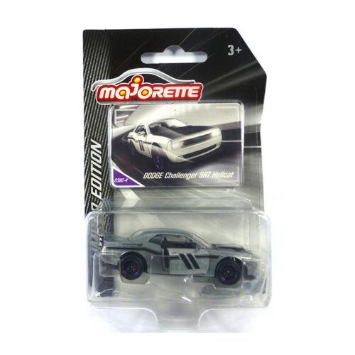 Majorette 212054018 Dodge Challenger SRT grau Limited Edition 1:64//3 Inch NEU!°