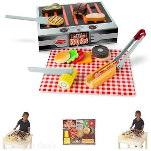 New Grill Serve BBQ Toy Set Gift Learning For Kids Child Toddlers