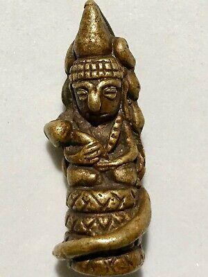 PHRA NARAI PLENG LP RARE OLD THAI BUDDHA AMULET PENDANT MAGIC ANCIENT IDOL#1