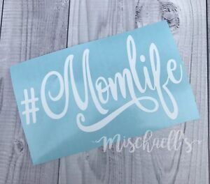 Details About Mom Life Car Decal Vinyl Sticker Yeti Cup Decal Busy Mom Sticker M1013