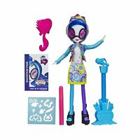 My Little Pony Equestria Girls Dj Pon-3 Doll With Markers And M... Free Shipping