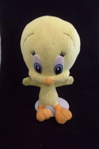 9 yellow tweety bird warner brothers looney tunes plush stuffed animal Nanco