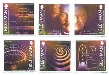 Isle of Man-Einstein-Hawking-Space-Black Holes-relativity set mnh 2016