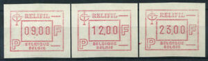 Belgio-1985-Mi-4-Nuovo-100-Automatici-9-00-12-00-23-00