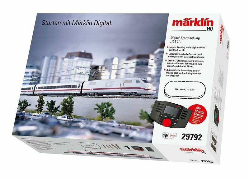 "Märklin 29792 Set di Partenza Digitale"" Ice 2 "" . 230 Volt Merce Nuova"