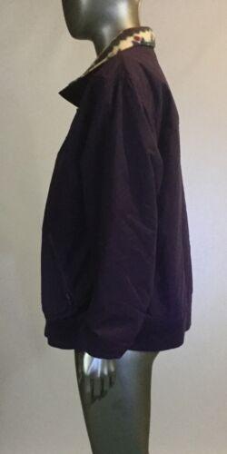 Ll Con Fagiolo Viola Invernale Giacca Grande Tasca Foderato Donna PavxgwP