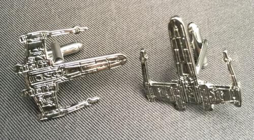Star Wars X-Wing Starfighter Mens Cufflinks cuff links novelty gift boxed