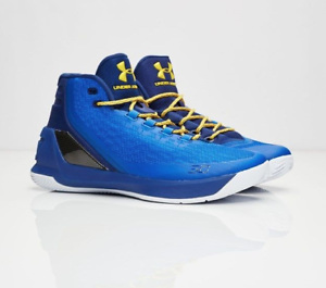 5e051e5d0c9 Under Armour UA Curry 3 Basketball Size 10.5 Dub Nation Heritage ...