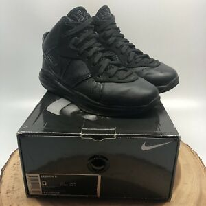 f871f91f1d0b Image is loading Nike-Lebron-8-Blackout-Black-Basketball-Shoes-417098-