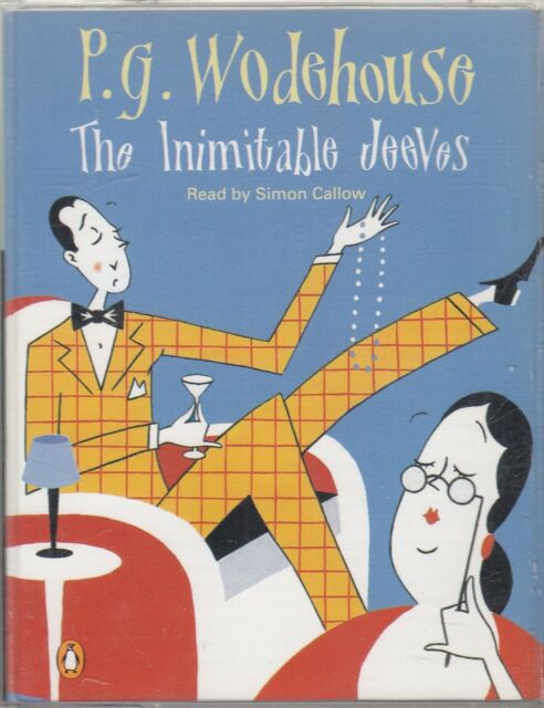 P G Wodehouse The Inimitable Jeeves 2 Cassette Audio Book Simon Callow FASTPOST