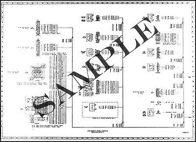 1987 Chevy GMC C5-C7 Wiring Diagram C50 C60 C70 C5000 C6000 C7000 Medium  Truck | eBayeBay