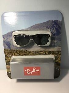 8326f7a4bcc Ray-Ban RB2132 902 New Wayfarer Classic Sunglasses Tortoise  Green ...