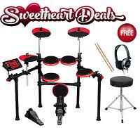 Ddrum Dd1 Plus Electronic Drum Set Kit Pro Bundle Free Throne Phones Shipping