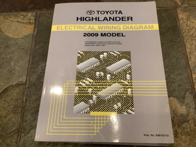2009 Toyota Highlander Wiring Diagrams Electrical Service Manual