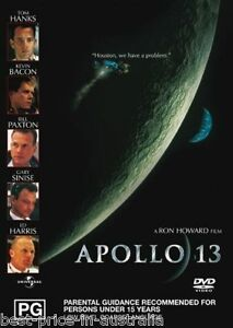 Apollo 13 DVD TOP 1000 MOVIES BEST PICTURE Tom Hanks TRUE