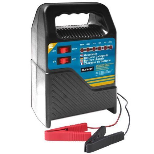 Autoveicolo caricabatteria caricabatterie batteria caricatore 6v-12v 8a