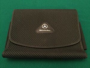 Amazing Image Is Loading Mercedes Benz Owners Handbook Manual Document Wallet Nice