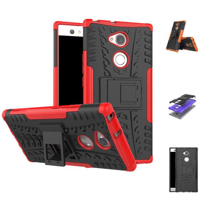timeless design 3ebaa 8f83c Shockproof Case Hard Protective Kickstand Slim Phone For Sony Xperia XA2  Ultra