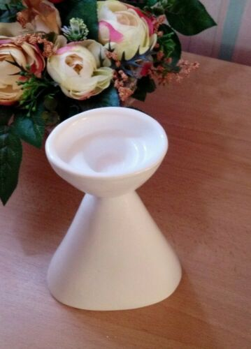 Lot de 2 blanc en céramique grand chandeliers décoration Home Decor cadeau
