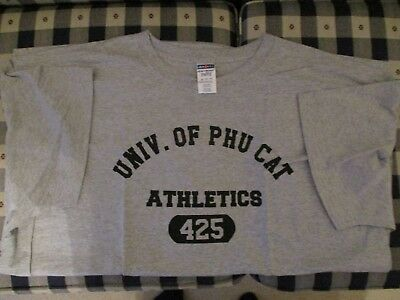 Vietnam University of Quang Tri Athletics T Shirt Vietnam Size XXXL 3XL