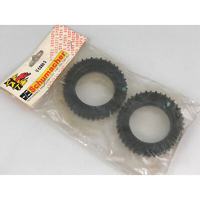 """Schumacher Mini Spike 2.2"""" Front 2WD Buggy Racing Tyres Green U6550S Modell"""