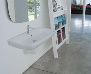 Vasca Da Bagno Globo : Ceramica globo genesis lavabo monoforo sospeso 60x50 70x50 80x50