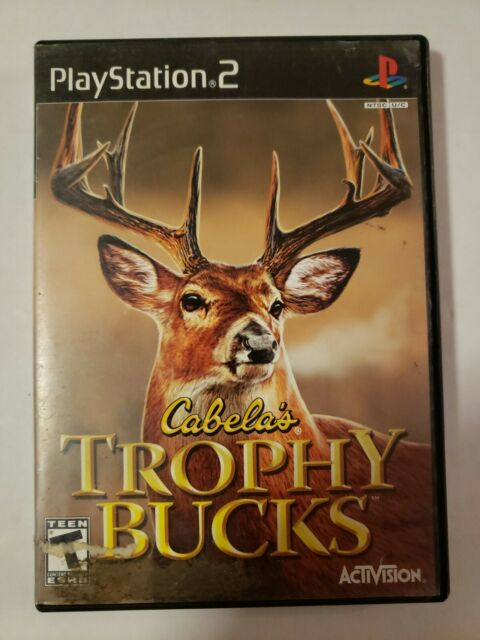 Cabelas Trophy Bucks PLAYSTATION 2 (PS2) Action / Adventure Complete