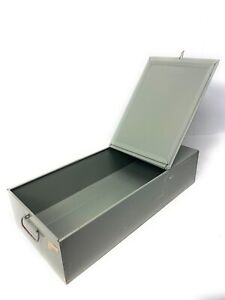 "Mosler Safe Deposit Box 21.5"" x 5"" x 10"" Durable Storage Container"