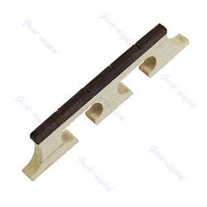 High-Quality-Maple-And-Ebony-Bridge-For-4-String-Banjo-Ukulele