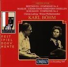 Sinfonien 4/Lieder Eines Fahrenden Gesellen von WP,Böhm,Ludwig (1999)
