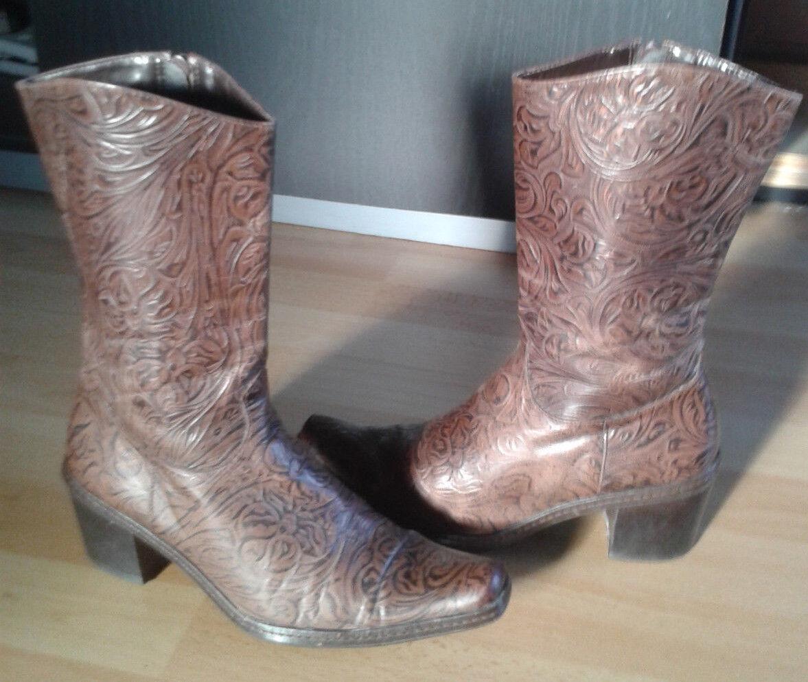 Cowboystiefel, Westernstiefel,Gr.38 Stiefel ,