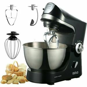 Electric-Food-Stand-Mixer-10-Speed-4-7QT-660W-Tilt-Head-Stainless-Steel-Bowl-AT