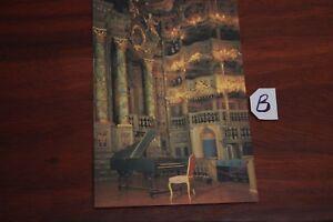 Carte Postale Bavière Markgäfliches Opernhauz-afficher Le Titre D'origine éGouttage