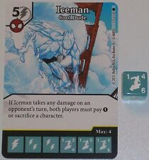 ICEMAN: COOL DUDE 123/142 The Amazing Spider-Man Dice Masters Rare