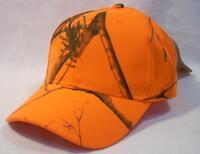 Kati Hunter Blaze Orange Realtree Ap Hat Cap Safety Hunting Shooting Flex Strap