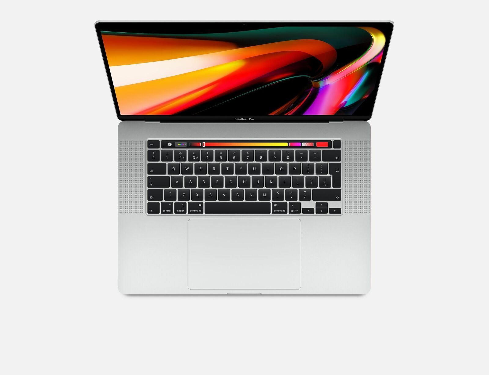 Apple MacBook Pro 16-Intel i9 2,30GHz(16GB|1TB|5500M|silber)2019-MVVM2N/A Querty