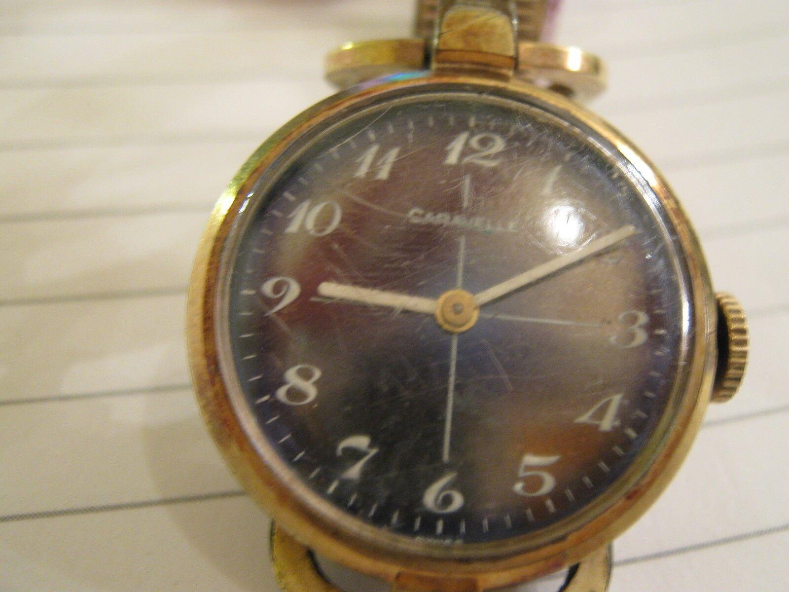Caravelle Ladies Watch , Vintage , Base Metal Bezel , S