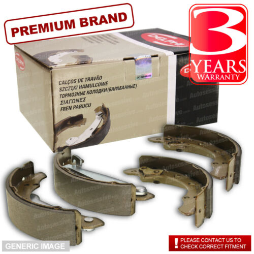 Rear Delphi Brake Shoes For Brake Drums Full Axle Set Fiat Seicento 0.9 1.1