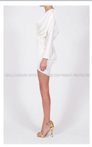 House Off 8 Sophia The Boutique Dress white Dolls 10 Bnwt YxqEw4fx
