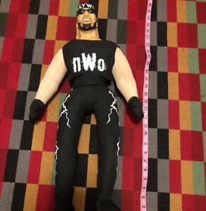 "1999 Vintage WCW NWO Hulk Hogan 26"" Inch Hard Plastic Plush Doll ..."